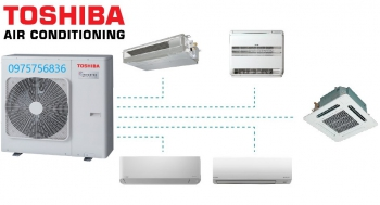 Toshiba UAV - 5:1 Inverter Multi